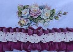 Resultado de imagen para corredor de mesas pintados en tela