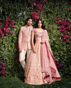 Take a walk into @ShyamalBhumika's wonderland to witness your own fairytale, being handcrafted into a lavish wedding ensemble.The brides and groomswear collection showcases excellent use of rich raw silks and thick bodied satins with zardosi embroidered floral patterns on dreamy silhouettes.