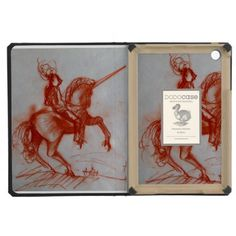 FLORENTINE  KNIGHT ON HORSEBACK iPad MINI RETINA CASE