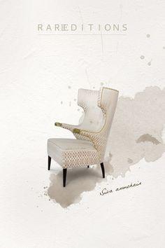 Living Room Chairs | Interior Design. Home Decor. #chairdesign #interiordesign #homedecor. Find more inspiration: https://www.brabbu.com/moodboards/