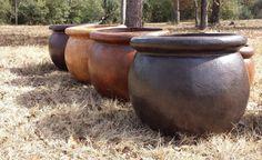 "Lightweight Medium Pottery 31"" w x 27.5""H 26 lbs. Item # 2005 Custom Colors Available"