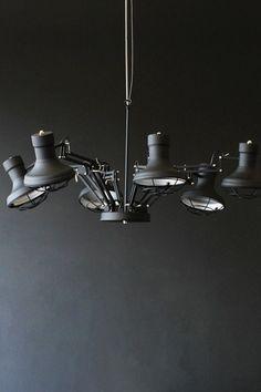 Six Arm Ceiling Light - Ceiling Pendant Lights - Lighting