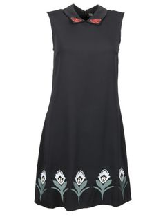 MARKUS LUPFER Markus Lupfer Folklore Embroidery Dress. #markuslupfer #cloth #dresses