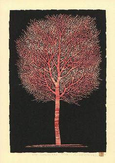 Nishida Tadashige Woodblock Print