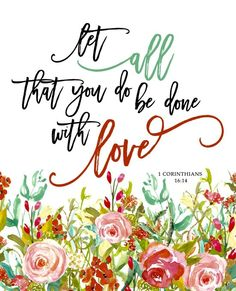 do it all with love