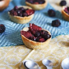 Mixed Berry Tartletts