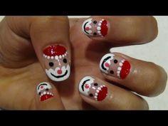 Christmas Nail Art Tutorial - Laughing Santa