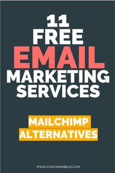 Mailchimp Alternatives - 11 Popular and Free Email Marketing Services Business Quotes, Business Tips, Online Business, Free Email Marketing Software, Start A Business From Home, Development Quotes, Improve Yourself, Alternative, Popular