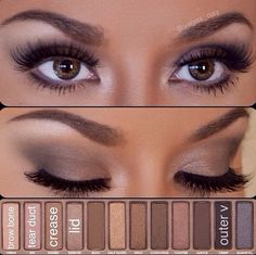Urban Decay Original Naked Palette | I love the looks I have been seeing for these naked palettes!