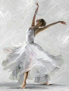 The Macneil Studio 'Dance of the Winter Solstice' Canvas Art White, Trademark Fine Art Ballet Art, Ballet Girls, Ballet Dancers, Ballerinas, Ballerina Kunst, Ballerina Painting, Dance Paintings, Dance Pictures, Dance Images