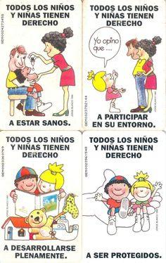 4 Phonecard / Tarjetas Telef Venezuela Cantv  Todos los niños tienen derecho