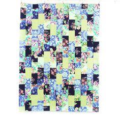 Rowan Brick Patch Quilt, Amy Butler fabrics