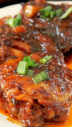 Sweet & Spicy Tamarind Ginger Roasted Chicken