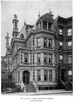 Daytonian.. The Lost Chas. B. Alexander Mansion.. 4 W. 58th Street