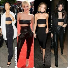 BLACK BANDEAU TOP  #WhoWoreBetter  #rihanna #mileycyrus #Gigiahadid #KendallJenner  #bandeau #blackbandeau #black #spring #summer #dress #queen #legsfordays #casual #fashion #blogger #croptop #omg #love #adidas #heels #angel #vs #victoriassecret #model #supermodel #beauty #makeup by fashion_style_celebrity