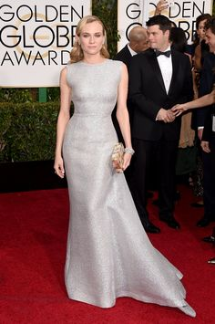 Golden Globes 2015: The Best Dressed Celebrities from the Red Carpet-Diane Kruger