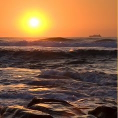 An amazing sunrise at Zimbali Ocean Club.