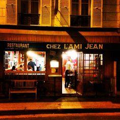 Chez l'Ami Jean 6 course tasting menu 50E per person