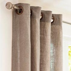 Vorhang Fibocchi aus Leinen