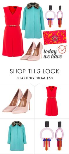 """""""TodayWeHave"""" by kotynska-zielinska ❤ liked on Polyvore featuring Topshop, MaxMara, Yumi, Toolally and Wilbur & Gussie"""