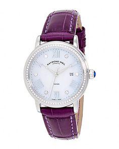 "RAYMOND WEIL Women's ""Maestro"" Diamond Watch"