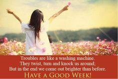 #GoodMorning #Inspiration #Happy #Motivational #Week