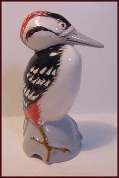Red Woodpecker Magnificent Stuart Bass Pie Bird Funnel Vent   eBay