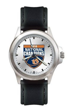 NCAA Auburn Tigers 2010 Football National Champion Fantom Watch by Logo Art…