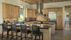 Martin-Pacifico Residence Kitchen by Ward + Blake Architects, Jackson, WY
