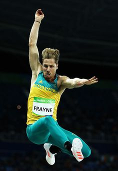 #RIO2016 Henry Frayne of Australia competes in the Men's Long Jump qualification on Day 7 of the Rio 2016 Olympic Games at the Olympic Stadium on August 12...