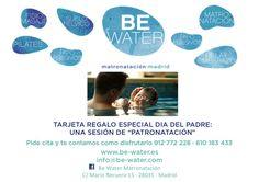 """El regalo original de este año para el día del padre, una sesión de """"PATRONATACIÓN"""". 912772228 - 610183433   #díadelpadre #quedamenos #happyday #bebé #papá #baby #hidroterapia #matronatación #piscina #madrid"""