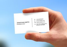 Description Simple Minimal Business Card can be used absolutely any company or for personal use. You can easily change the color of the element or the element itself in just 1 click. All