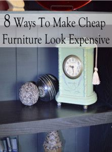 We can't always buy everything new and expensive, but we can make good use out of the things we do have. Here are some tips to help make what you have look nicer, so you don't have to replace anyt...