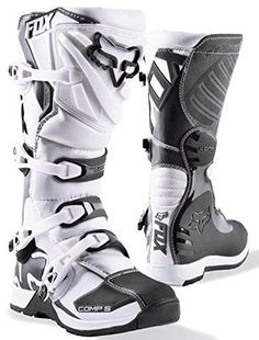 Find Fox Racing Comp 5 Mens Motocross Boots at MxMegastore. We guarantee the lowest price on Fox Racing Comp 5 Mens Motocross Boots and thousands of other items in our Motocross Boots category. Dirt Bike Boots, Mx Boots, Dirt Bike Gear, Motocross Gear, Motorcycle Boots, Shoe Boots, Fox Racing, New Dirt Bikes, Futuristic Shoes