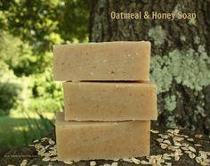 Oatmeal & Honey Cold Process Soap Recipe (palm free)