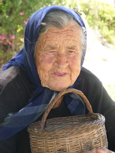 A widow (Crete, mountains)