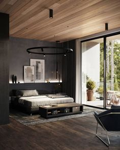Beautiful lighting ideas for modern bedroom 00028 ~ Home Decoration Inspiration Dark Furniture, Furniture Layout, Luxury Furniture, Boys Furniture, Bedroom Colors, Bedroom Decor, Bedroom Ideas, Bedroom Boys, Bedroom Lighting