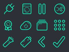 Vector Icon Set – 100+ Icons Free Download | Icons | Graphic Design Junction #vectoricons #freeicons #psdicons #svgicons #iconfont