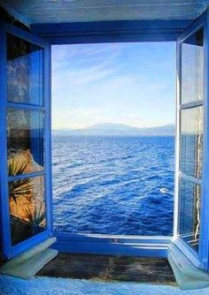 What I would give to be sitting looking out at this beautiful view!