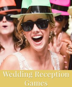 Wedding reception games and activities your guests will love!