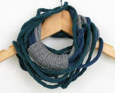 scarf necklace neck warmer knitted necklace neck wrap infinity