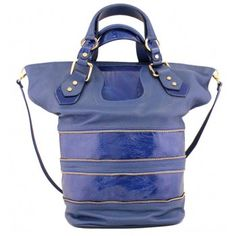 Abrianna Royal Blue #tote #leather #handbag #madeincanada Balenciaga City Bag, Royal Blue, Shoulder Bag, Handbags, Leather, Design, Fashion, Moda