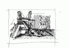 sketches people sketch and architecture sketches on pinterest. Black Bedroom Furniture Sets. Home Design Ideas