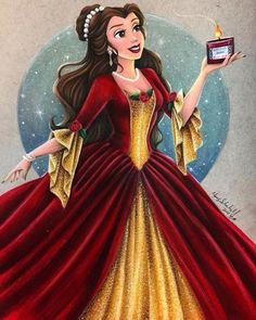 A tale as old as time, Disney princesses leave a little bit of magic with us no matter how old we get. Disney Pixar, Walt Disney, Deco Disney, Disney Cartoons, Disney And Dreamworks, Disney Magic, Disney Characters, Disney Belle, Disney Princess Art