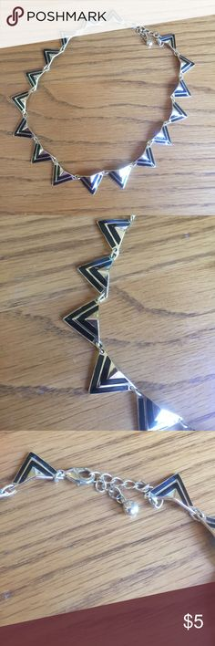❣️Black and gold spike choked❣️ Black and gold spike choker from Charlotte Russe!! Only worn a couple of times. Great condition!! 15% off purchase of 2 items or more!!💕.                                                  Make an offer.                                                                         No trades. I really want to get rid of some stuff 💕 Charlotte Russe Jewelry Necklaces
