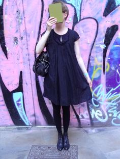 Little Black Dress ♥ (by Sandro) Sandro, Devil, Outfit Of The Day, Shirt Dress, Shirts, Outfits, Black, Dresses, Fashion