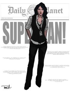 Lois Lane by tsbranch.deviantart.com on @deviantART