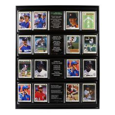 <div>Proudly display your sports card collection! Insert your sports cards in the clear protecti...
