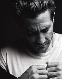 Dang, Jake. You look better wrinkly. Jake Gyllenhaal for VMAN