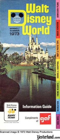 Magic Kingdom Spring-Summer 1973 Information Guide
